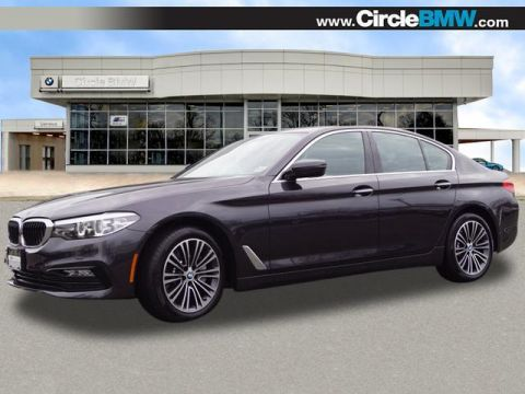 Pre-Owned 2018 BMW 5 Series 530i xDrive Sedan With Navigation & AWD