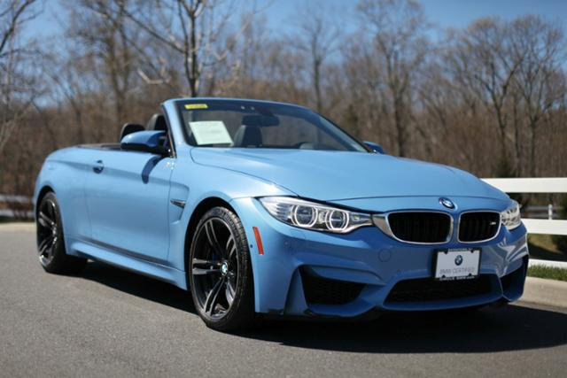 BMW Pre Owned >> Certified Pre Owned 2016 Bmw M4 2dr Conv