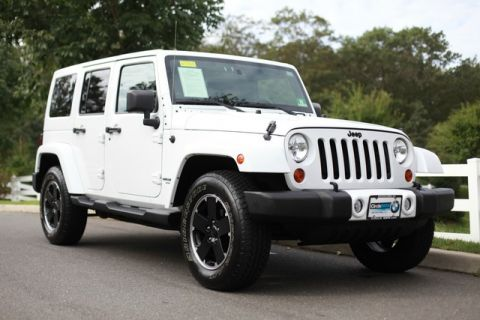 Pre-Owned 2012 Jeep Wrangler Unlimited 4WD 4dr Altitude