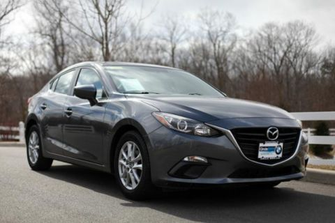 Pre-Owned 2014 Mazda3 4dr Sdn Man i Grand Touring